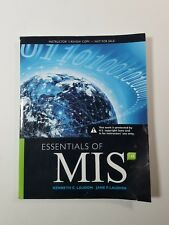 Essentials of Management Information Systems 12th Edition Paperback 2017