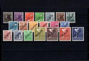 Berlin 1949, Nr. 1-20, postfrisch mit Fotoattest