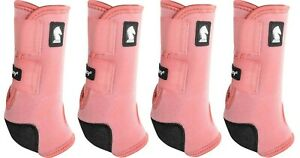 Classic Equine LEGACY2 SYSTEM Blush Front Hind Rear Value Pack SMB L Leg Boots