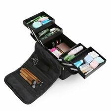 Large Beauty Make up Vanity Case Cosmetic Box Hairdressing Nail Art Storage Bag