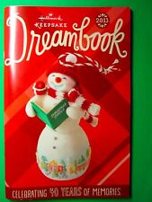 HALLMARK KEEPSAKE DREAMBOOK 2013 New includes wishlist Great Reference Guide!