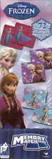 Memory Match Game DISNEY FROZEN 72 Cards Educational Learning S2-T - New