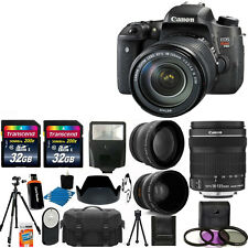 Canon EOS Rebel T6s Digital SLR & 3 lens 18-135mm STM + 64GB Top Complete Kit