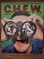 LOLLAPALOOZA CHEW Magazine 1995 Concert Guide Sonic Youth, Hole, Beck, Vintage!