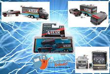 Greenlight Hollywood A-Team Van GMC Modellauto & Chevy 1/64 Car Hauler DieCast