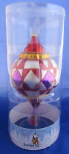 Large Jim Shore Glass Christmas Ornament #0388661 - 11""