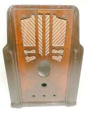 vintage PHILCO MODEL 620 RADIO TOMBSTONE  WOOD SHELL in GOOD SHAPE