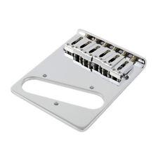 Gotoh 6-Saddle Left-Handed Tele Bridge For Telecaster Chrome