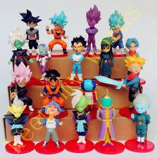 18 pezzi Dragon Ball Z FIGLIO GOKU Super Saiyan PVC Statuetta Topper per torta