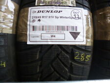 1x Winterreifen DUNLOP 215/45 R17 91V Sp WinterSport M3 DOT13 - 8mm