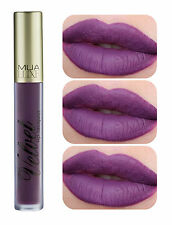 MUA Luxe Velvet Lip Lacquer Long Wear Matte Lipgloss in Shade Reckless Red