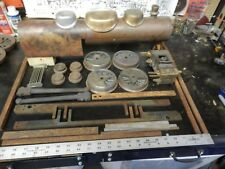 "Live steam style locomotive engine 3 1/2"" 5""? gauge cylinders chest boiler parts"
