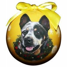 "Australian Cattle Dog-Shatterproof Ball Ornament-3"" by E & S Pets"