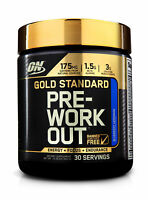 Optimum Nutrition Gold Standard Best Pre-Workout Powder Energy + Focus Strength