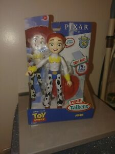 Brand New Disney Pixar Toy Story True Talkers Jessie Figure Rare Free Shipping
