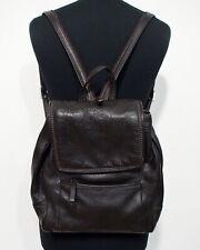 Leder Vintage Handtasche Rucksack Damen F038