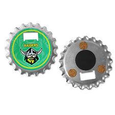 NRL Canberra Raiders Fridge Magnet Bottle Opener Coaster 3 in 1 Gadget Gift