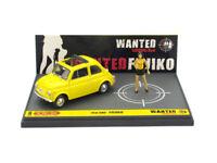 Fiat 500 Lupin III Wanted Fujiko 1/43 lim.ed. S11/60  L04 Brumm