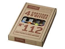 OPINEL SET 4 COLOR KITCHEN PARING KNIVES KNIFE / BLUE GREEN ORANGE PURPLE