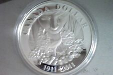 Low Mintage Canada 2011 Parks Commemorative Proof Silver Dollar