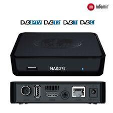 MAG275 (100% analog de MAG254) con receptor DVB-T/T2/C, Original de InfoMir