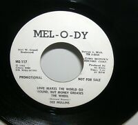 Dee Mullins - Loves Makes The World go Round But The monkey.. Mel O Dy Promo 45