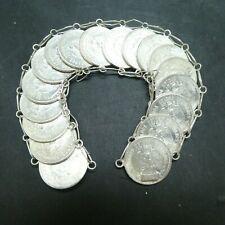 18 COINS Mexico 20 Centavos Silver Coin Bracelet UNCIRCULATED