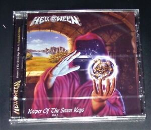 HELLOWEEN KEEPER OF THE SEVEN KEYS PART 1 CD MIT 4 BONUS TITEL NEU & OVP