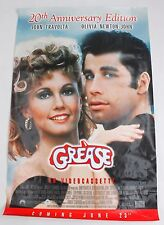 Grease 20th Anniversary Edition Original Vintage Movie Poster