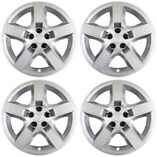 "Brand New - Set of 4 - 17"" Silver Hubcaps for 2008 2009 2010 2011 Chevy Malibu"