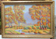 """California Autumn"" by Charles Wesley Nicholson (1886-1965)Cali Impressionism"