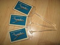 Grumman Gulfstream II Luggage Tags - Vintage Airplane Playing Card Name Tag (3)