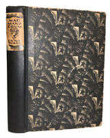 MAD MAN'S DRUM: A NOVEL IN WOODCUTS by LYND WARD, 1930, 1st Edition, 1st Print