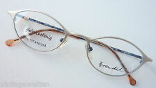 Brendel Markenbrille Damen federleicht nickelfrei frechfetzig 48-19 silber sizeM