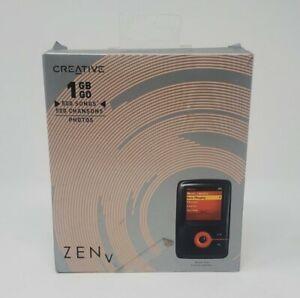 Creative ZEN V Black 1GB Digital Media MP3 Player - NEW