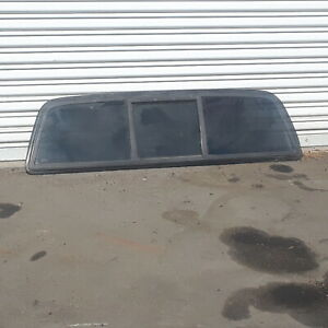 2004 Toyota Tacoma Rear Cab Back Sliding Slider 3-piece Glass