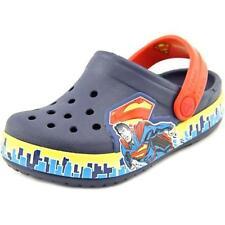 Sandali e scarpe Crocs blu sintetico per il mare da donna