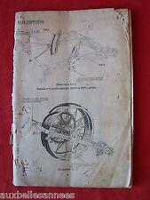 ANCIEN LIVRE MANUEL MACHINE AGRICOLE / AGRICULTURE MATÉRIEL