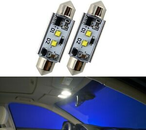 LED Light Canbus Error Free 578 6W White 6000K Two Bulb Interior Dome Lamp Fit