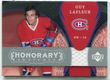 2007-08 Upper Deck Trilogy Honorary Swatches GL Guy Lafleur Jersey