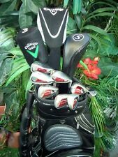 Polished Callaway Golf Driver Irons Set Putter Club MacGregor Bag NEW Nike Balls
