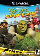 Shrek Smash And Crash Racing Nintendo Gamecube Game Only
