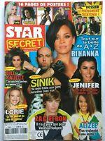 RIHANNA ZAC EFRON JENIFER LAAM INDOCHINE BILL KAULITZ 2008 STAR SECRET Magazine