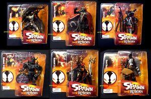 Spawn Reborn Series 3 Action Figure Set of 6 New 2005 Raven McFarlane  Amricons