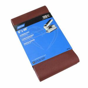 """Norton Aluminum Oxide Sanding Belt - 6"""" X 48"""" X 120 Grit"""