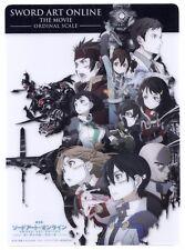 Sword Art Online Movie Ordinal Scale Kirito Asuna Anime Shitajiki pencil board