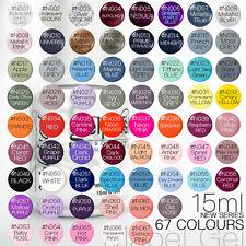 15ml Mabel's Gel Nail Art Soak Off Color UV Gel Polish - New Colour N001-N060