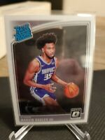 Marvin Bagley III RC 2018-19 Donruss Optic #168 Rated Rookie Centered Sharp MINT