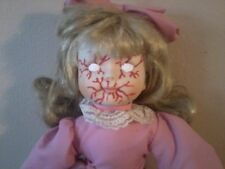 POSSESSED ZOMBIE PROP SCARY DISEASED PORCELAIN DOLL HORROR HALLOWEEN PROP EVIL