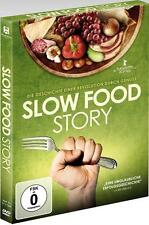 Slow Food Story (Piero Sardo, Carlo Petrini, Azio Citi, Alice Waters) DVD Neu!